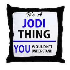 Cute Jody Throw Pillow