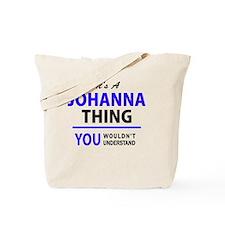 Cute Johanna Tote Bag