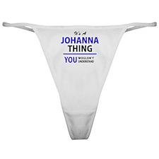 Unique Johanna Classic Thong