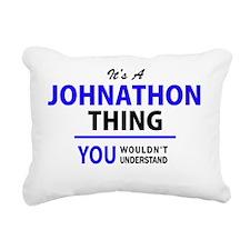Cute Johnathon Rectangular Canvas Pillow