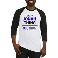 Unique Jonah Baseball Jersey