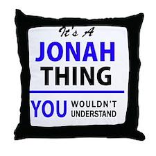 Cool Jonah Throw Pillow