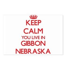 Keep calm you live in Gib Postcards (Package of 8)