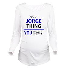 Unique Jorge Long Sleeve Maternity T-Shirt