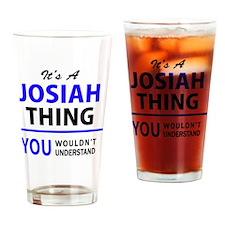 Cute Josiah Drinking Glass