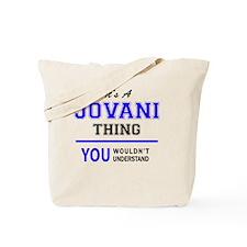 Unique Jovani Tote Bag