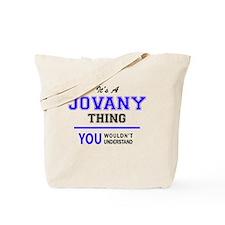 Cute Jovani Tote Bag
