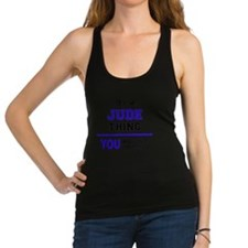 Cute Jude Racerback Tank Top