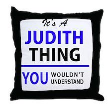 Unique Judith Throw Pillow