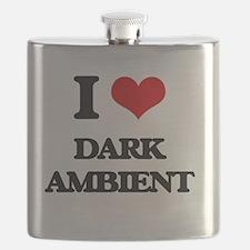 Cute Darkness radio Flask