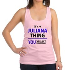 Cute Juliana Racerback Tank Top