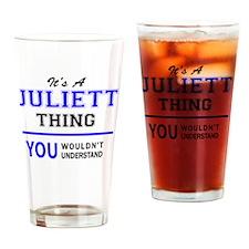 Cute Juliette Drinking Glass