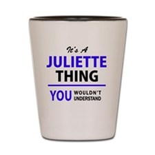 Unique Juliette Shot Glass
