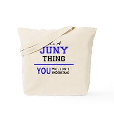 Funny Junie Tote Bag