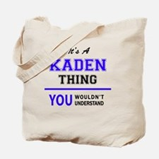 Cute Kaden Tote Bag