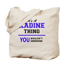 Cute Kadin Tote Bag
