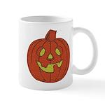 Grinning Halloween Pumpkin Mug