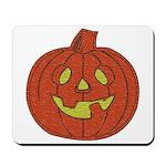 Grinning Halloween Pumpkin Mousepad