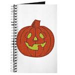 Grinning Halloween Pumpkin Journal
