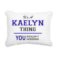 Cute Kaelyn Rectangular Canvas Pillow