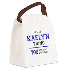 Cute Kaelyn Canvas Lunch Bag