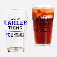 Cute Kahler Drinking Glass