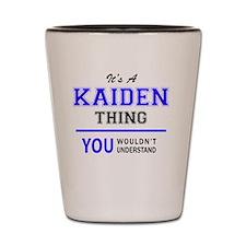 Cute Kaiden Shot Glass