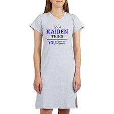Cute Kaiden Women's Nightshirt