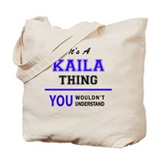 Cute Kaila Tote Bag