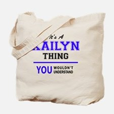 Funny Kailyn Tote Bag