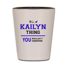 Unique Kailyn Shot Glass