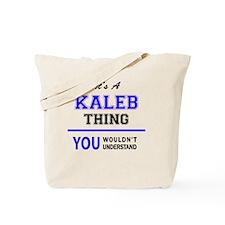 Unique Kaleb Tote Bag