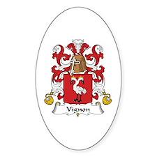 Vignon Oval Decal