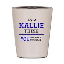 Cute Kallie Shot Glass