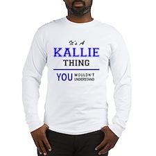 Cute Kallie Long Sleeve T-Shirt