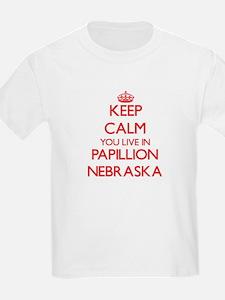 Keep calm you live in Papillion Nebraska T-Shirt