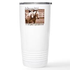 Unique Haflinger pony Travel Mug