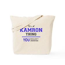 Cute Kamron Tote Bag