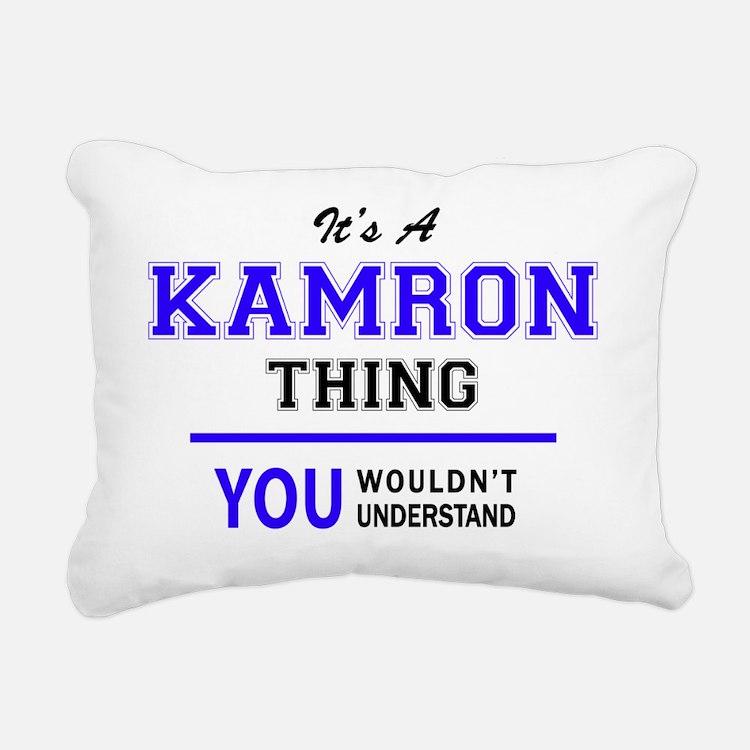 Cute Kamron Rectangular Canvas Pillow