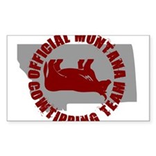 FUNNY MONTANA SHIRT T-SHIRT C Sticker (Rectangular
