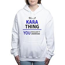 Cute Kara Women's Hooded Sweatshirt