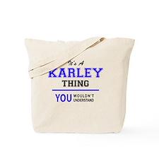 Cute Karley Tote Bag