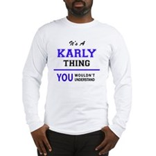 Cute Karly Long Sleeve T-Shirt