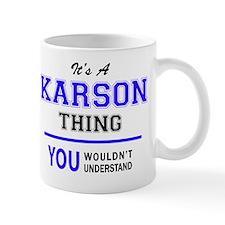 Cute Karson Mug