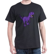 Purple T-Rex Dinosaur T-Shirt