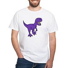 Purple T-Rex Dinosaur Shirt