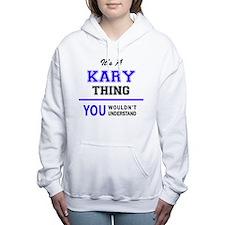 Unique Kari Women's Hooded Sweatshirt