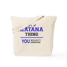 Cute Katanas Tote Bag
