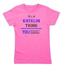Cute Katelin Girl's Tee
