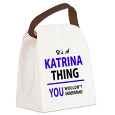 Katrina Canvas Lunch Bag